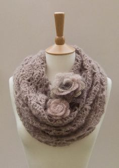 Ravelry: Flower Gale Cowl pattern by WhisperTwister