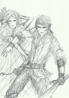 Wendy and Peter by bombxbomb on tumblr Wendy Peter Pan, Peter Pan Ouat, Robbie Kay Peter Pan, Peter Pan Disney, Arte Disney, Disney Art, Character Inspiration, Character Design, Once Upon A Time Funny
