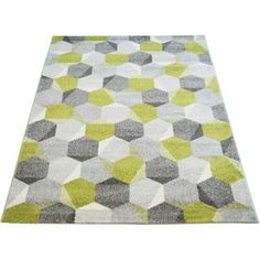 Buy Monte Carlo Pixel Rug 120x170cm - Green at Argos.co.uk, visit Argos.co.uk to shop online for Rugs and mats