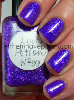 Lynderella Love Potion No. 99. From Let Them Have Polish.