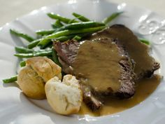 Roast Beef with Gravy Recipe : Trisha Yearwood : Food Network - FoodNetwork.com
