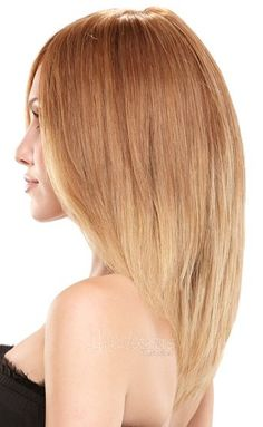 Strawberry Blonde ombre I really likethis one