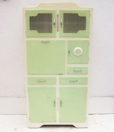 vintage utility cabinet - I'd love one of these!