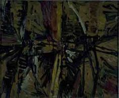 Fin de tarde, 1954. Óleo / Lienzo o tela.