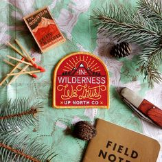In Wilderness We Trust by UpNorthCo on Etsy https://www.etsy.com/listing/224662235/in-wilderness-we-trust