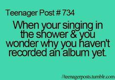 Haha sometimes:)