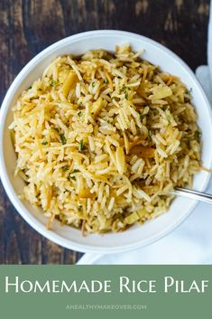 Easy Rice Pilaf, Brown Rice Pilaf, Wild Rice Pilaf, Seasoned Rice Recipes, Brown Rice Recipes, Basmati Rice Recipes, Rice Cooker Recipes, Rice Side Dishes, Food Dishes