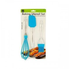 Silicone And Plastic Baking Utensil Set (pack of 6) X662-KL15218