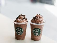 Starbucks new fraps! I love the Cookie Crumble Creme! It has no coffee and it is de-lish!
