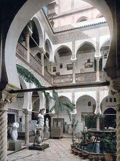 Museum entrance hall, II, Algiers, Algeria