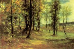 Nicolae Grigorescu, Clearing oil on canvas, x cm, National Museum of Art of Romania, Bucharest. Post Impressionism, Art Database, Art For Art Sake, State Art, National Museum, Landscape Art, Art Forms, Art Museum, Concept Art