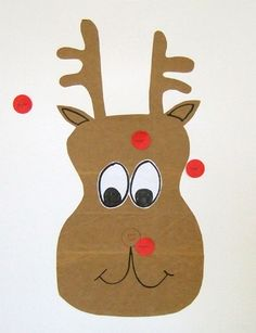 advent day 20: play Pin the Nose on Rudolph