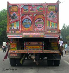 Indian Truck Backside