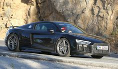 A More Powerful Audi R8 Kind Of Spotted in Testing