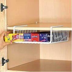 Under Shelf Wrap Rack