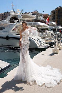 ROSSALEE wedding dress by TINA VALERDI
