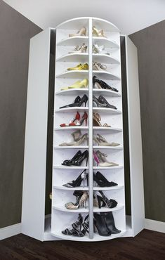 Shoe Cabinet - Get the best shoe storage ideas here so you can maximize your small space