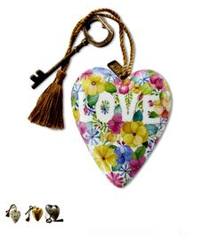 Floral Love Art Heart **NOW AVAILABLE**