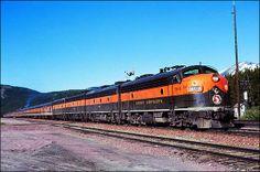 Great Northern Railway 'Empire Builder' 361-A Train