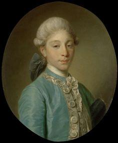 Portrait of the Marquis de Saint-Paul, Jean-Baptiste Greuze, c. 1760