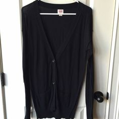 Target Black Cardigan Sz Small Worn once. Perfect condition cardigan from Target. Sz. Small. See other listings for same cardigan in other colors. Target Sweaters Cardigans