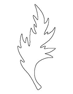 A A Boom Boom Leaf Template | Vine Pattern Use The Printable Outline For Crafts Creating