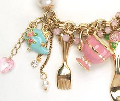 Betsey Johnson Tea Party inspired Jewelry - spring 09