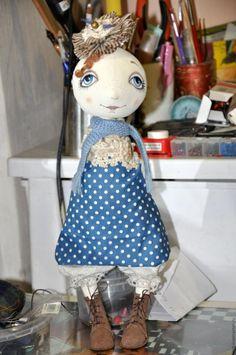 Роспись лица текстильной куклы - Ярмарка Мастеров - ручная работа, handmade