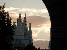 Photos around the World (by E.V.Pita) / Fotos del mundo (por E.V.Pita): Spain, Buen Retiro Park of Madrid at sunset / Parq...
