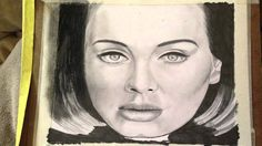 Drawing Adele - Hello
