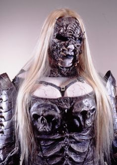 THIS IS NOT A COSPLAY, BUT THE ORIGINAL. If I had the skill, I'd cosplay her... Enary, former band member of Lordi.