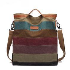 $21.99 (Buy here: https://alitems.com/g/1e8d114494ebda23ff8b16525dc3e8/?i=5&ulp=https%3A%2F%2Fwww.aliexpress.com%2Fitem%2FNew-2015-Stripe-Canvas-Bag-Women-Shopping-Bags-Casual-Patchwork-Canvas-Handbag-Shoulder-Bags-Small-Tote%2F32491511626.html ) New 2015  Stripe Canvas Bag Women Shopping Bags Casual Patchwork Canvas Handbag Shoulder Bags Small Tote Bolsas Femininas for just $21.99