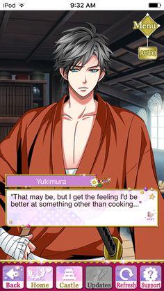Yukimura P.O.V Noble Ending #SamuraiLoveBalladParty