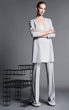 a1e1b6ff Protagonist Resort 2017 | Moda Operandi High Fashion, Grey Fashion, Over 50  Womens Fashion