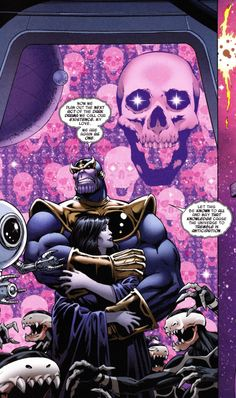 Thanos & Death THANOS: INFINITY REVELATION Jim Starlin (pencils), Andy Smith (inks) & Frank D'Armata (colors) Words by Jim Starlin