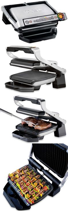NIB All Clad TG806 Stainless Steel Removable Plate Electric Grill Griddle France