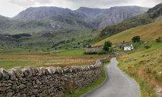 Ogwen Valley near Bethesda, Gwynedd