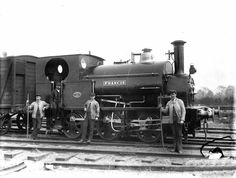"Steam Locomotive ""Francis"" Avonside Engine Company"