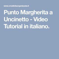 Punto Margherita a Uncinetto - Video Tutorial in italiano.