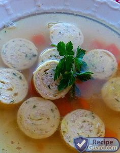 Let RelishCarterers.com cater your next event! Meat rolls for gourmet soup