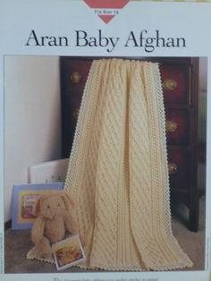 Aran Baby Afghan pattern  Vanna's  767 by CarolsCreations77, $2.00
