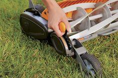 Fiskars StaySharp Max Reel Mower Reel Lawn Mower, Types Of Grass, Blade Sharpening, Spring Steel, Lawn And Garden, Outdoor Power Equipment, Black Garden, Power Tools, Cords