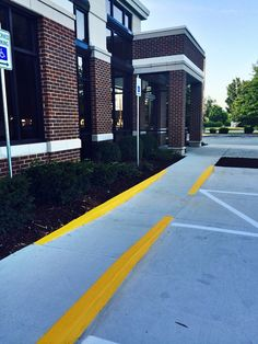 Parking Area Maintenance & Marking 865-680-9225 Curbing Painting Sevierville TN Concrete Pavement Sealcoating Surfaces Knoxville TN Nashville TN  aaastripepro@gmail.com Parking Lot Striping 865-680-9225