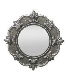 Love this Metal War Mirror by Three Hands Corporation on #zulily! #zulilyfinds