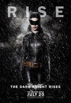 'The Dark Knight Rises' Character Portrait Posters