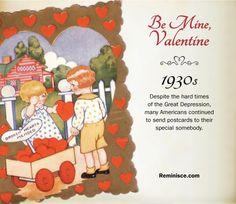 Vintage valentines through the decades: 1930s