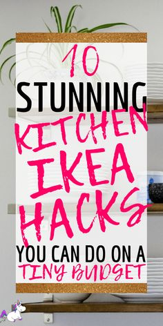 IKEA kitchen hacks are the perfect solution if you want to save money redecorating your kitchen. These IKEA kitchen hacks are easy to DIY on a small budget! Ikea Hacks, Diy Hacks, Do It Yourself Ikea, Layout Design, Kitchen Storage Hacks, Ikea Kitchen Organization, Ikea Hack Kitchen, Ikea Hack Bathroom, Organizing