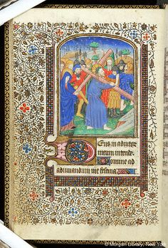 Book of Hours, MS M.1040 fol. 28v - Images from Medieval and Renaissance Manuscripts - The Morgan Library & Museum