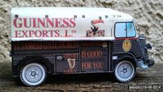 PAPERMAU: Citroen HY Guiness Exports Paper Models - by Atlas 86 & Camille