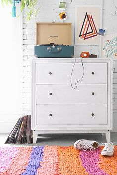 3-Drawer Box Dresser - Urban Outfitters